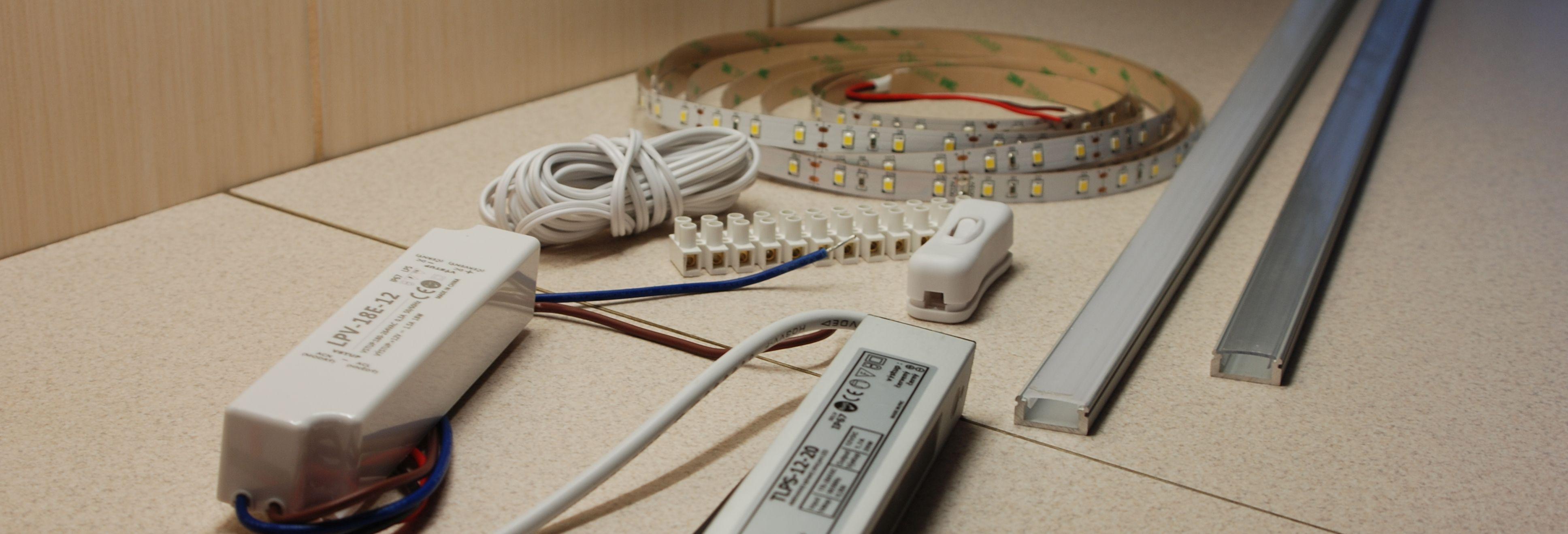 LED pásek pod kuchyňskou linku  39758ec5a3